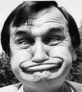 Goofy Face man