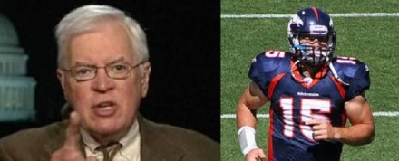 Bill Press and Tebow image2