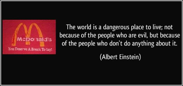 Albert Einstein Quote Banner