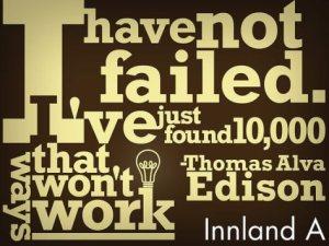Edison on Failure